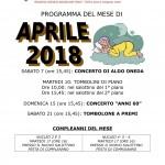 PROGRAMMA APRILE 2018-1