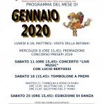 PROGRAMMA DEL MESE DI GENNAIO 2020-1