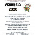 PROGRAMMA FEBBRAIO 2020