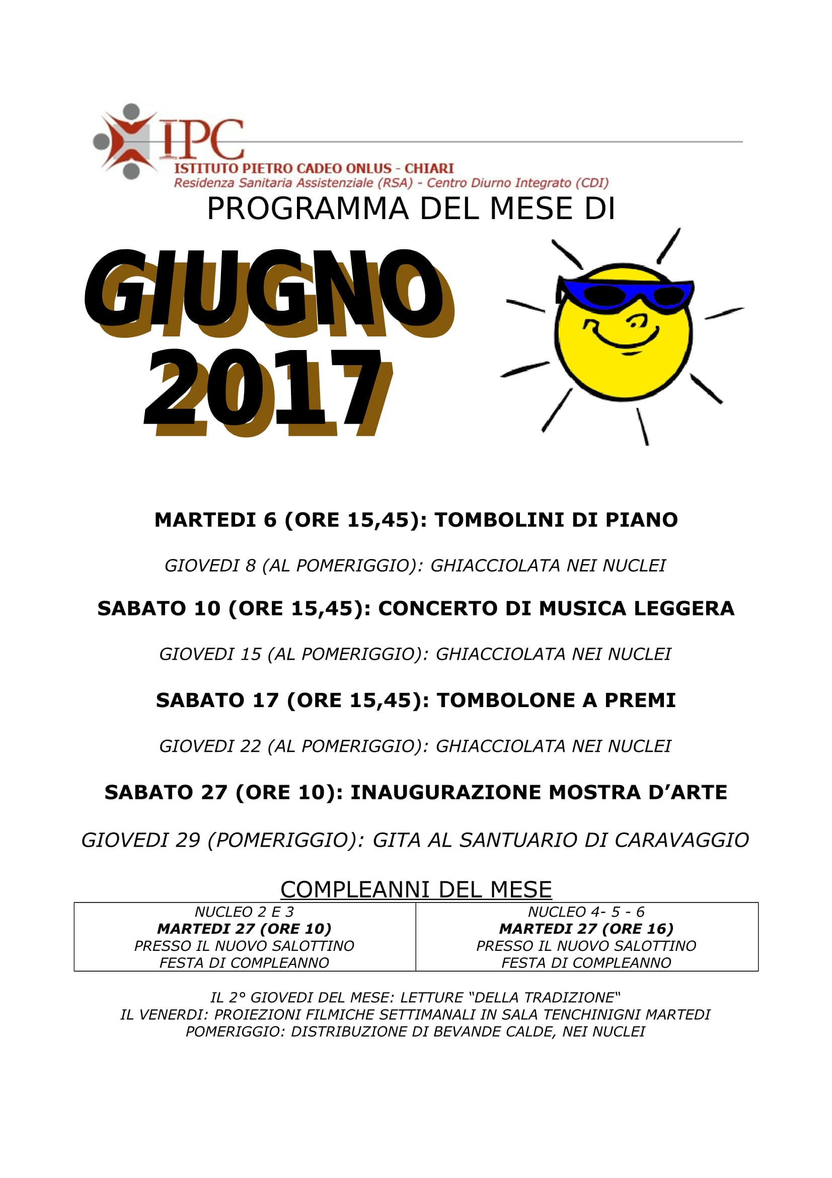 PROGRAMMA GIUGNO 2017-1