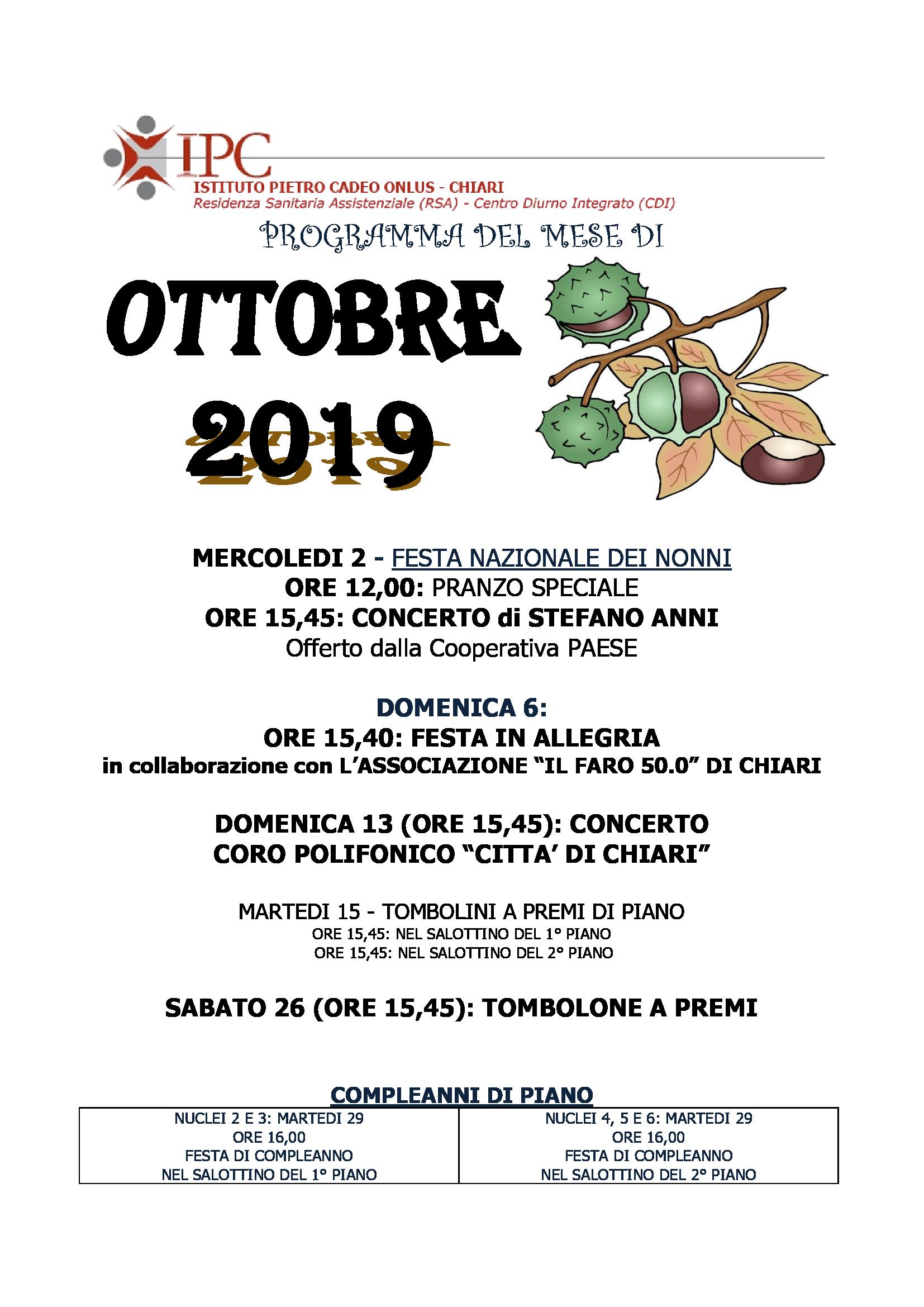PROGRAMMA-OTTOBRE-2019